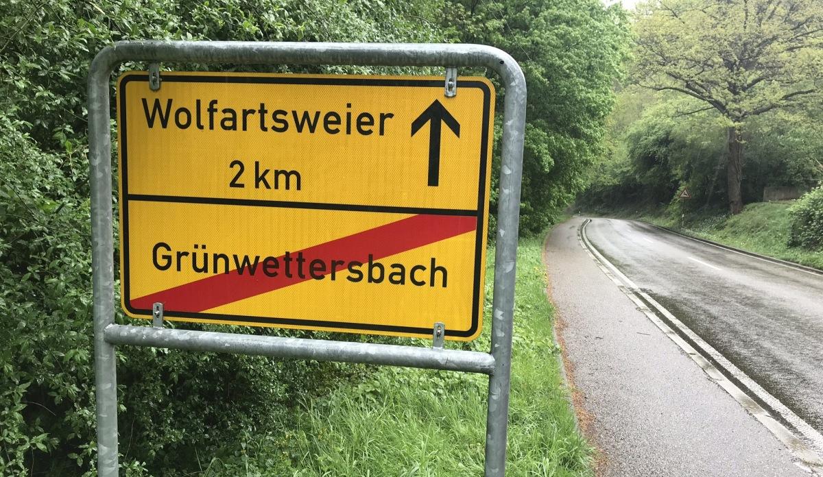 Radweg L623 Grünwettersbach - Wolfartsweier