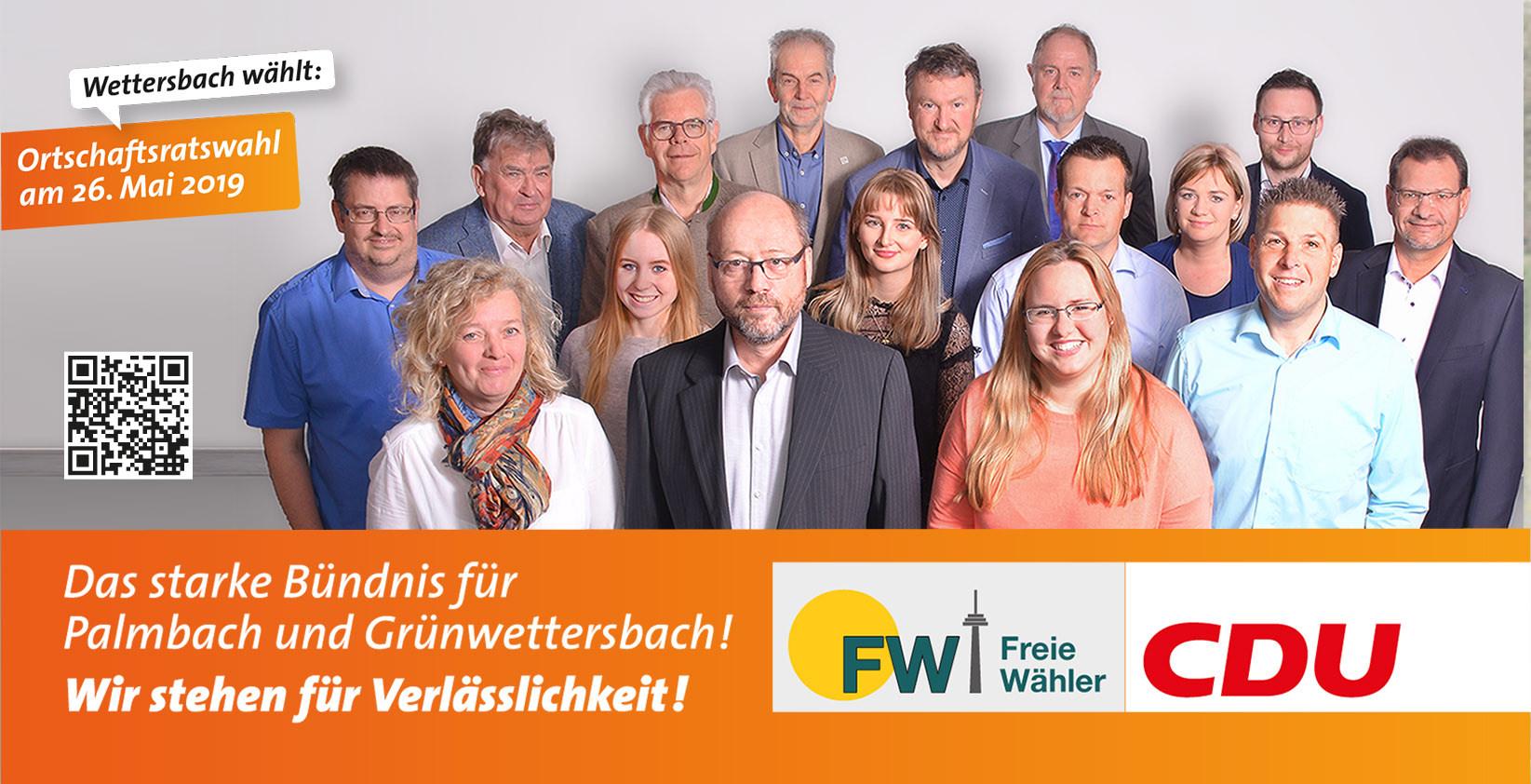 CDU-FW-Ortschaftsratskandidaten Wettersbach