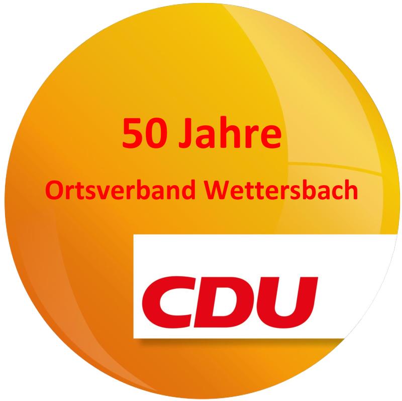 50 Jahre CDU Wettersbach