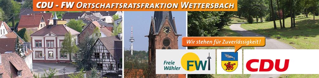 CDU-FW-Ortschaftsratsfraktion Wettersbach