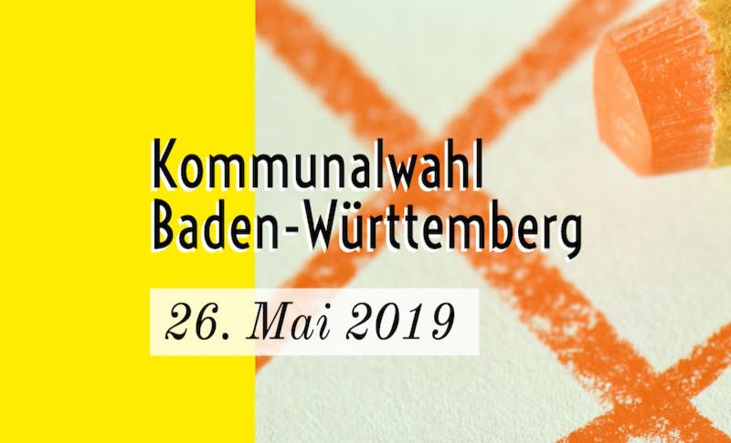 Kommunalwahl am 26.05.2019